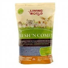 Sustrato de Papel -  Living World - Fresh N Comfy - 20lts