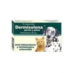 Dermisolona - Prednisolona 20 mg - 10 comp.